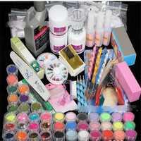 42 colores UV Gel manicura conjunto de herramientas juego de uñas UV esmalte de uñas herramientas de arte juego de uñas Gel de construcción