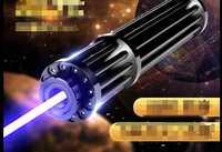 Más Potente 1000000 M 450nm de alta potencia punteros láser azul linterna quema partido vela encendida cigarrillo travieso Torch