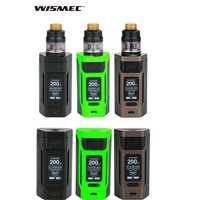 Wismec Reuleaux RX2 20700 kit/mod caja con GNOME atomizador 4 ML ajuste WM bobina cigarrillo electrónico vape kit del gen3 dual