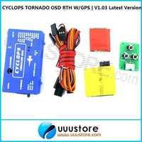 2014 nuevo Cyclops tornado sistema OSD puntos de paso de velocidad aérea verdadera bajo RTH poder W/GPS   V1.03 última versión