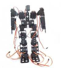 17DOF bípedo robótico Robot Educativo robot humanoide kit servo bracket F17326