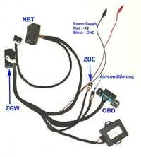 Para BMW F01 F02 F10 F18 F25 Fxx NBT encendido emulador para ZGW para CAS4 encendido emulador para Fxx NBT encendido probador