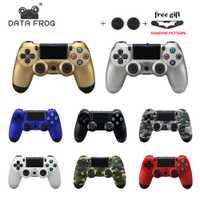 Contrôleur sans fil Data Frog pour Sony PS4 manette de jeux Vibration Bluetooth pour Playstation 4 manette pour ConsoLe de jeux PS4 PS3