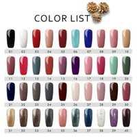40 piezas de uñas de Gel UV esmalte de uñas de todos para manicura pedicura uñas Gel arte polaco laca de UV LED lámpara de curado Gel barnices