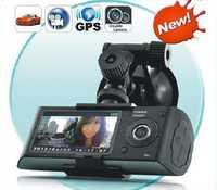 ¡Lente Dual de 120 grados GPS 3D g-sensor 2,7