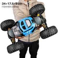 1/16 4WD eléctrica coche de RC Rock Crawler de juguete de Control remoto 2,4G Radio 4x4 conducir -juguetes de coche de carretera para regalo de niños
