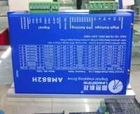 Envío libre leadshine 2 trifásico stepper conductor AM882H ajuste NEMA 23/34/42 trabajo del motor de pasos 36-80VDC fuera 2.7A-8.2A CNC controladores
