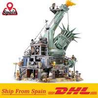 DHL 45014 film 3560 pièces compatible avec Legoing 70840 bienvenue à APOCALYPSEBURG Set blocs de construction briques enfants jouets cadeau