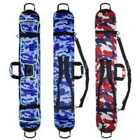 Nuevo esquí de esquí llevar portátil hombro mochila bolso de mano de Snowboard de placa única Oxford impermeable caso 135 cm 145 cm 155 cm