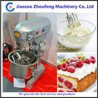 Mezclador de masa multifunción mezclador de alimentos comercial de 10 l para mezclador de alimentos de 220 V de harina de crema de huevo para panadería