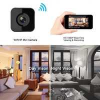 Envío de la gota 1080 P HD WIFI Mini cámara de visión nocturna movimiento Mini cámara de Video pequeña grabadora Web inalámbrica cam