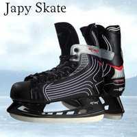 Japy Skate Vik Max 9511 Hockey adulto niño patines de hielo profesional cuchillo de Hockey sobre hielo Real hielo Patines