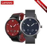 Lenovo ver X Plus Bluetooth5.0 reloj inteligente versión deportiva Smartwatch OLED pantalla doble capa correa de silicona reloj de pulsera