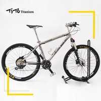 TiTo de aleación de titanio de bicicleta MTB 26 27,5 ruedas M610 trajes 30 velocidad ultraligero 11,93 kg de titanio de bicicleta