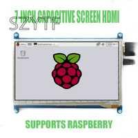 7 pulgadas pantalla LCD display 800X480 para la frambuesa Pi3