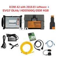 V2018.12 Software en HDD para BMW ICOM A2 A + B + C + diagnóstico herramienta de programación en la tableta EVG7 EVG7 (DL46/HDD500GB/DDR4GB) del icom A2