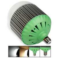 AC220V E40 aluminio de Color blanco diodo led bombillas 70 W alto brillo ahorro de energía llevó bola de la burbuja llevó lámpara del proyector