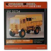 KNL HOBBY modelo Voyager PE35734 AEC Matador de transporte militar camión pre-Actualización de metal grabado piezas