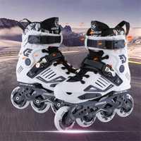 Profesional patines en línea para adultos Rollerblade Roller Skate zapatos para adultos de las mujeres de los hombres de patinaje libre Patins de 4 ruedas