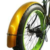 Vuelo de leopardo de nieve bicicleta alas bicicletas fender ala bicicleta de hierro material fuerte y duradero cobertura completa envío gratis