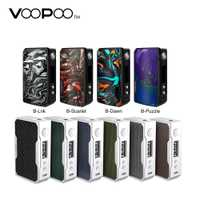 Boîte d'origine VOOPOO glisser 2 177W TC MOD E-cigarette & 157W glisser boîte Mod w/US gène puce No 18650 batterie Vape boîte Mod vs LUXE/GEN