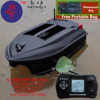 Bolsa gratis posición GPS Control remoto inteligente RC cebo barco TL-380D doble cebo campana inalámbrico Sonar Detector de peces fijar red de pesca
