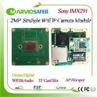 1080 p FULL HD 2MP Starlight Sony IMX291 colorido Noche de visión CCTV cámara IP de red para el Video de seguridad de Onvif IPCam