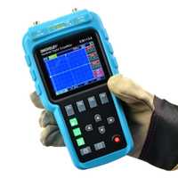 -Sol EM115A 50 MHZ 200MSa/S 3in1 portátil profesional osciloscopio Digital + multímetro + generador de señal USB colorLCD pantalla