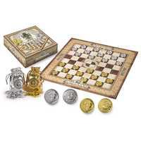 Harry Potter jeu de cartes jeu d'échecs jeu de dames jeu de société Gringotts argent pièces d'or Fans édition Collector