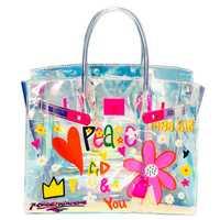 Bolso de mano transparente bolsa transparente de PVC jalea colorida bolsa de mensajero láser holográfica bolsos de hombro para mujer