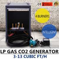 4 quemadores horticultura/propano gas natural modelos co2 generador de efecto invernadero