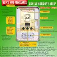 DHL a WL PCIE NAND Flash ic chip para iphone SE 6 s 6sp 7 7 p 8G 8 P X PRO ard disco prueba instrumento reparación programador HDD SN serie