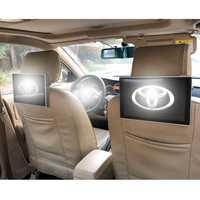 Entretenimiento del asiento trasero LCD Android reposacabezas pantalla monitores DVD reposacabezas pantalla táctil para Toyota Land Cruiser Prado