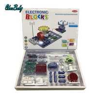 2019 bloc électronique Circuit Science apprentissage éducatif intégré blocs de construction Kit jouet créatif physique développement jouets