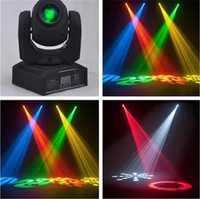 Offre spéciale Mini Spot 30 W LED lumière principale mobile avec plaque Gobos et plaque de couleur, haute luminosité 30 W Mini LED lumière principale mobile DMX512