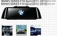 Gps de audio para coche para bmw5 series f10 4pin 6pin pantalla táctil con solución t3 andorid6.0 soporte 3G wifi OBD mirror-link