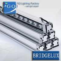 4 piezas/lotFedexDHL 36 w led arandela lightDMX512 caliente llevó arandela de la pared luz LED arandela de la pared lámpara al aire libre cuadrado inundación paisaje