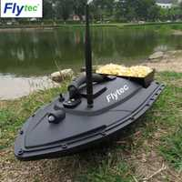 Flytec outil de pêche Smart RC appât bateau jouet double moteur détecteur de poisson bateau de pêche télécommande bateau de pêche bateau hors-bord jouets cadeau