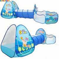 Océan Sence 3 pc Enfants Jouer Tente Crawl Tunnel Piscine À Balles Enfants Jouet Tentes Bébé Intérieur Usage Extérieur Grand Enfants pour tente Maison