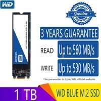 Western Digtal azul 500GB 1TB M2 disco duro de estado sólido NGFF interno M2 2280 SATA 6 Gb/s 560 MB/S para ordenador portátil