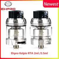 Tanque de vaporizador de cigarrillo electrónico Ehpro Kelpie RTA 2 ml/3,5 ml de capacidad de doble base y panal aire de la ranura del Zeus X RTA
