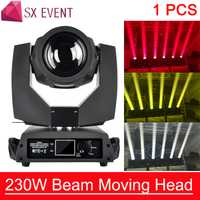230 W cabeza móvil haz de Sharpy Lira haz 230 W 7R Luz de cabeza pantalla táctil haz de 230 7R etapa luces de discoteca