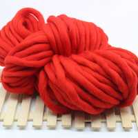 1 kg de moda Super grueso hilado de acrílico suave de lana de brazo de punto, manta de punto