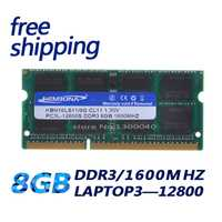 KEMBONA mejor precio vender 1,35 V DDR3L 1600 MHz DDR3 PC3L-12800S 8 GB SO-DIMM módulo de Memoria Ram Memoria para Laptop/Notebook