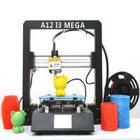 El Comité contra el terrorismo de 2019 nuevos apagón continuó A12 3D de impresora DIY i3 Upgradest de alta precisión Prusa 3D impresora Kits DIY FDM impresora