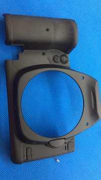 ¡Envío libre! 90% nuevo SLR cámara digital reparación y piezas de repuesto 5d2 shell frontal para canon cubierta frontal