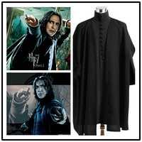 Harri Potter personaje Cosplay Severus Shape disfraz Black Cloak Halloween etapa nueva moda Fit figura disfraz Drop Ship