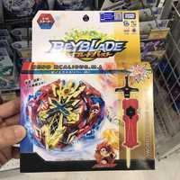 Takara Tomy hauts Beyblade rafale évolution attaque Pack métal Fusion B-48 avec lanceur Pack GT Bey lame Gyro jouets