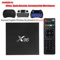 X96 Android 6,0 TV Box Amlogic S905X Max 2 GB de RAM 16 GB ROM Quad Core WIFI HDMI 4 K * 2 K HD Smart Set Top BOX Media Player PK X96mini