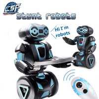 Robot Intelligent humanoïde Robot télécommandé Intelligent auto-équilibrage robot 5 Modes de fonctionnement Robot chien animaux jouets électroniques